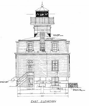 Blueprints pomham rocks lighthouseest1871 riverside rhode island the lighthouse malvernweather Images